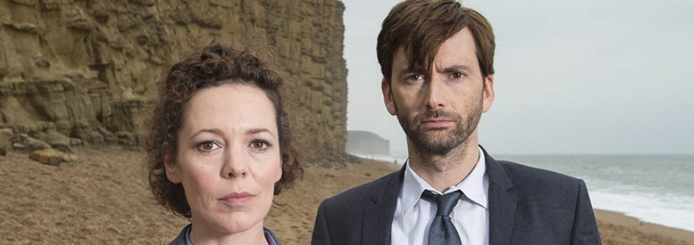 David Tennant & Olivia Colman in Broadchurch