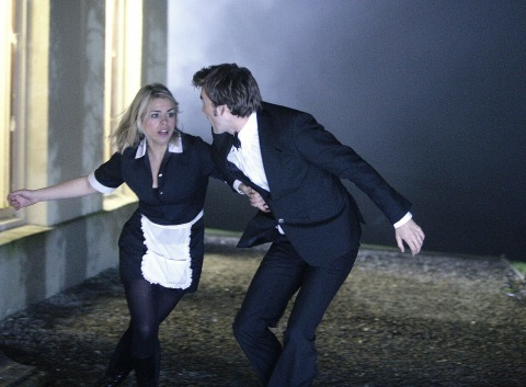 David Tennant & Billie Piper in Doctor Who