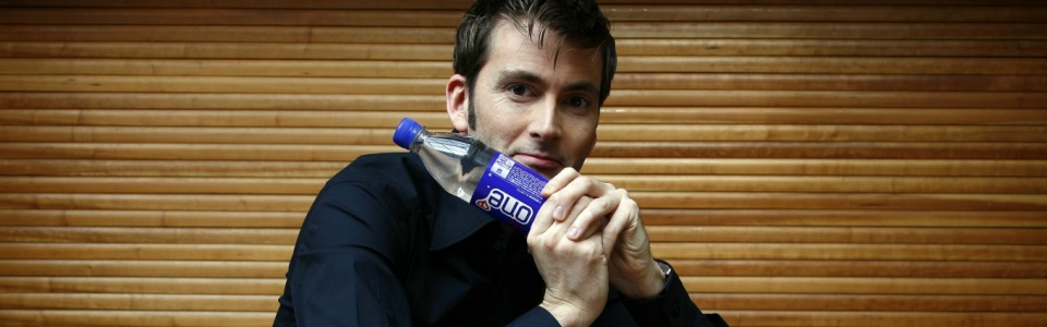 David Tennant supports the One Water campaign