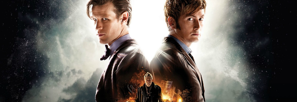 Matt Smith and David Tennant